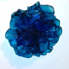 Blue Wall Flower